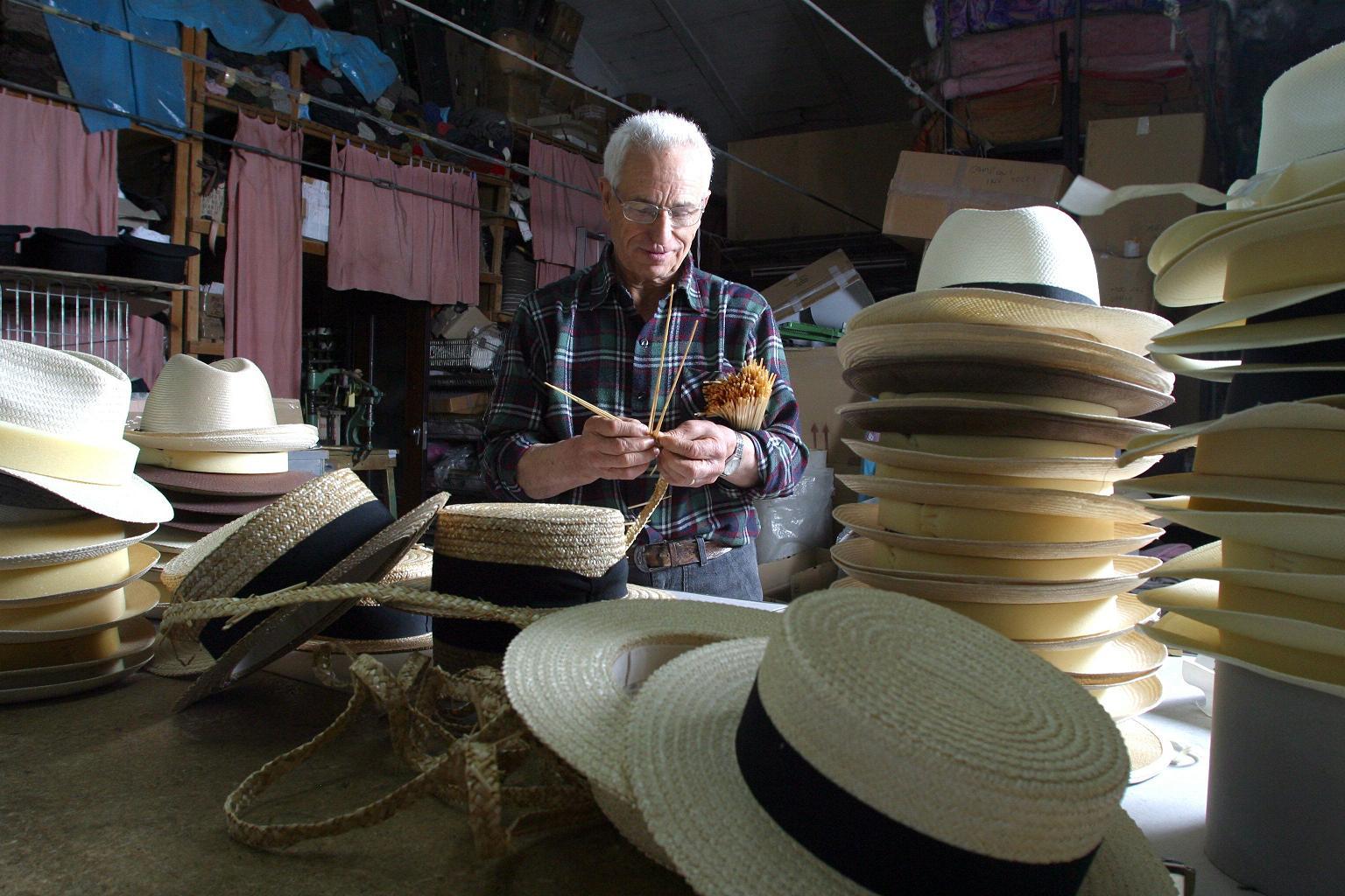 Cappelli di Montappone - Cappello di Paglia - Artigianato ... fa1fe82c507b