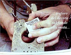 """Chiusura per collana in stile """"Ori di Taranto"""" - Fase 2b"""