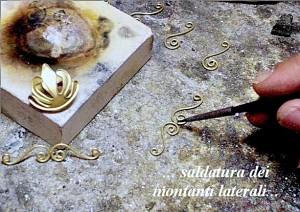 """Chiusura per collana in stile """"Ori di Taranto"""" - Fase 2c"""