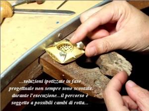 """Chiusura per collana in stile """"Ori di Taranto"""" - Fase 3b"""