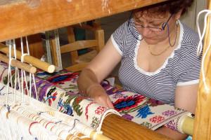 Lavorazione tappeto sardo